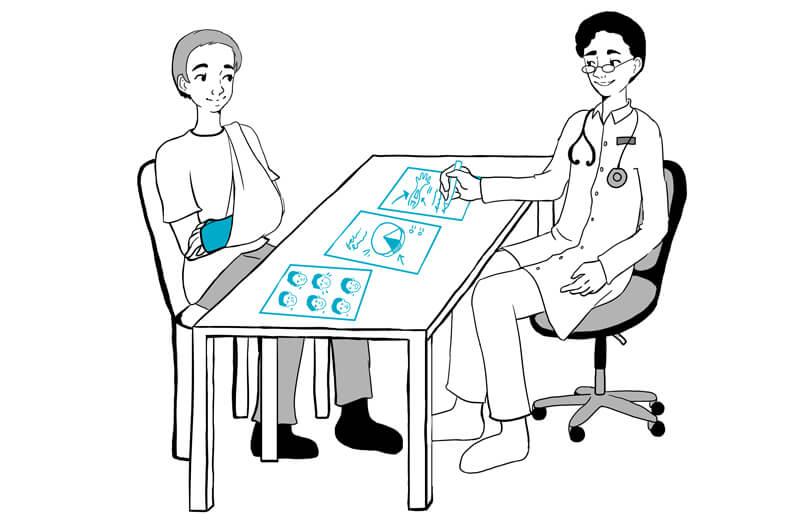 Visuele communicatie en de zorg